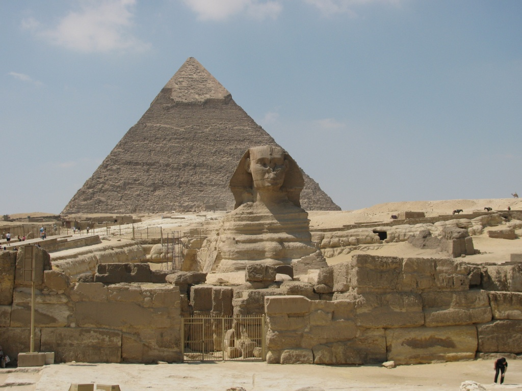 Sphinx, on whose feet the great generation bowed!