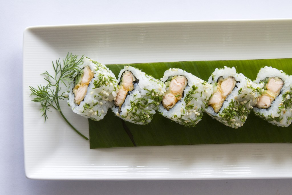 Spicy Sake Dill Rolls 5